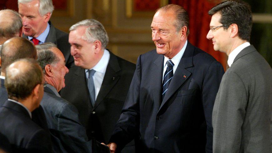 Jean-Pierre Raffatin et Jacques Chirac avaient tissé une profonde relation