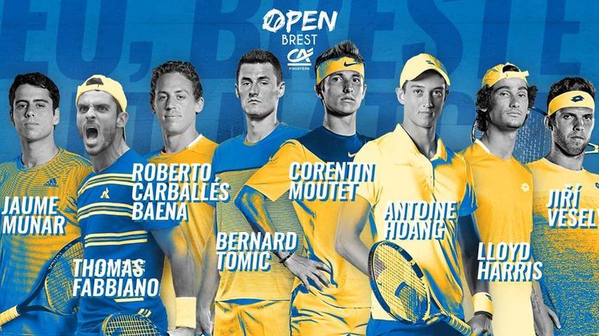 Parmi les têtes d'affiche de cet Open de Brest, l'espagnol Roberto Carballés Baena et le français Corentin Moutet