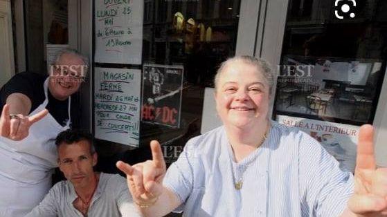 Patricia Mesnier, boulangère à Besançon ils font bouger la fc France bleu besançon