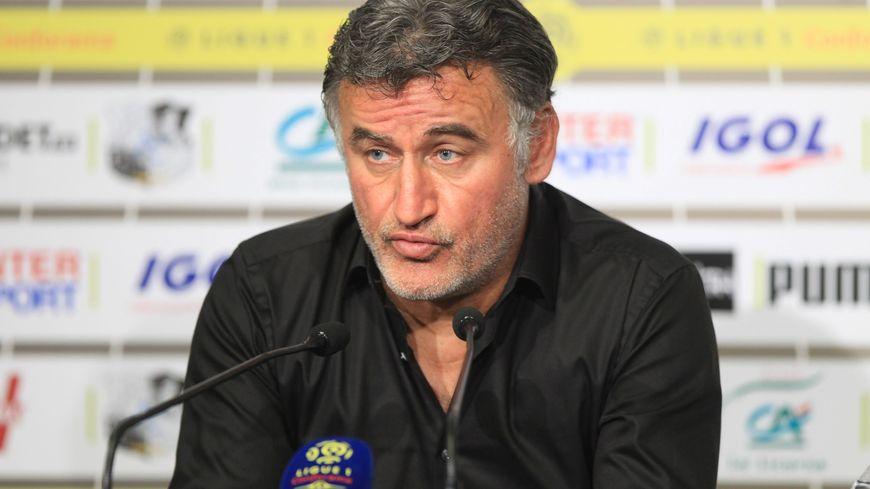 Christophe Galtier a entrainé l'ASSE de 2009 à 2017.