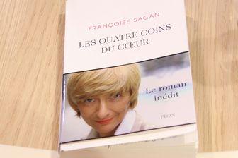 """Le roman inédit de Françoise Sagan, """"Les quatre coins du coeur"""", sera tiré à 80.000 exemplaire"""