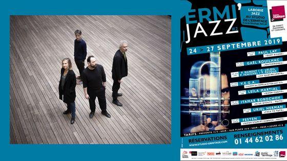 Les Quatre Vents : Perrine Mansuy, Christophe Leloil, Pierre Fénichel, Fred Pasqua
