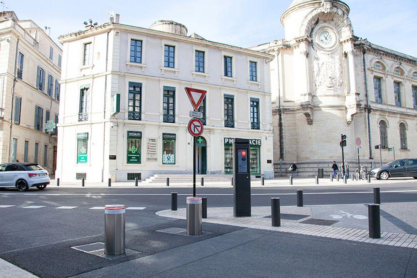 Bornes BES installées à Nîmes