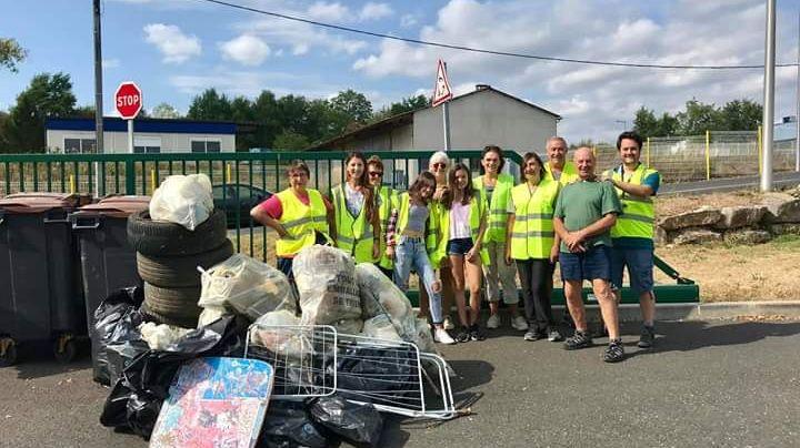 Les habitants des quartiers de Brive ont ramassé plus de 30 m3 de déchets en moins de deux heures