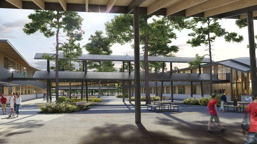 Futur Collège et lycée du Barp