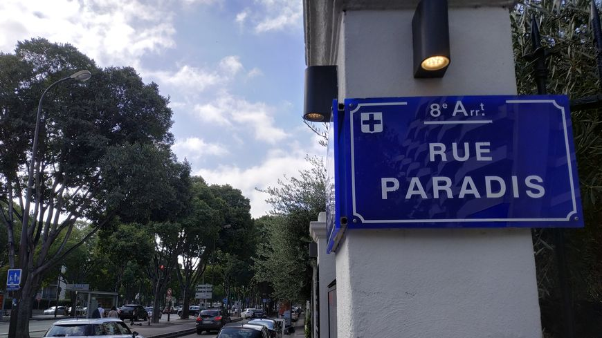 Les faits se sont produits rue Paradis (8e), ce dimanche 29 septembre.