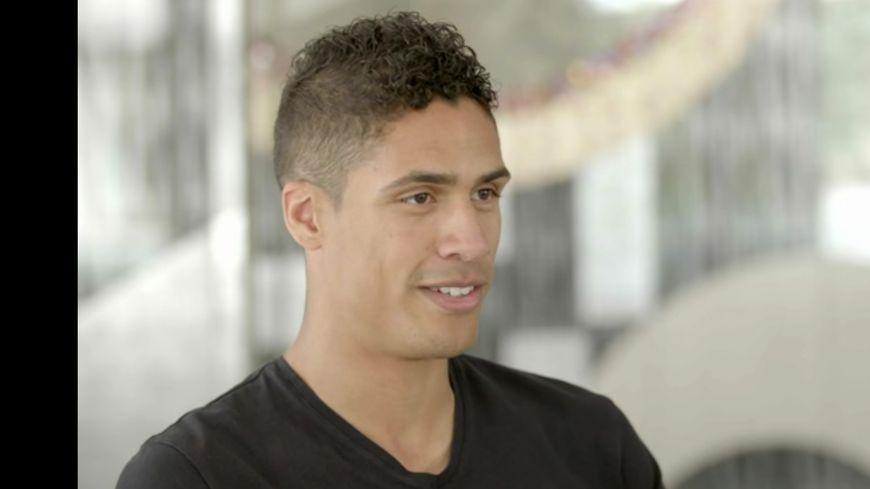 le défenseur de l'équipe de France Rafael Varane