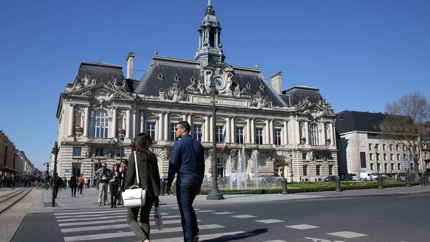 La mairie de Tours illustration