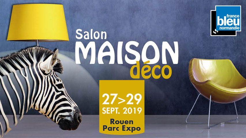 Affiche salon Maison déco Rouen 2019