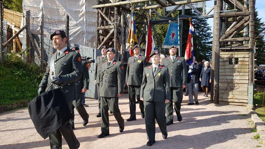 C'est la première fois que la commémoration du 75ème anniversaire de l'évacuation du Struthof est organisée.