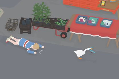 """Dans """"Untitled Goose Game"""", vous êtes une oie parfaitement insupportable"""