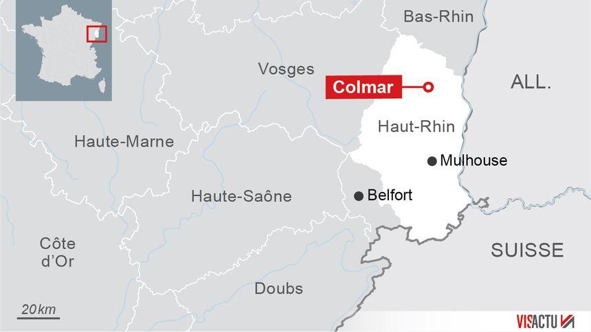 Colmar, préfecture du Haut-Rhin.