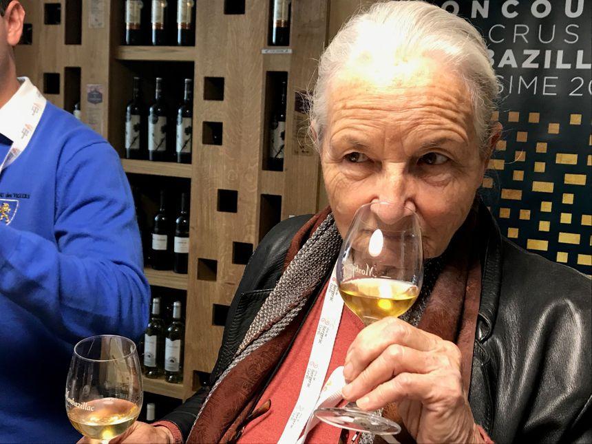 Danièle Mazet Delpeuch, entre deux vins de Monbazillac