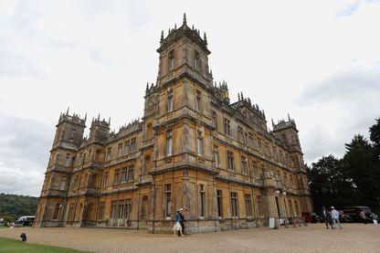 Le château de Highclere, qui sert de décor à la série Downton Abbey