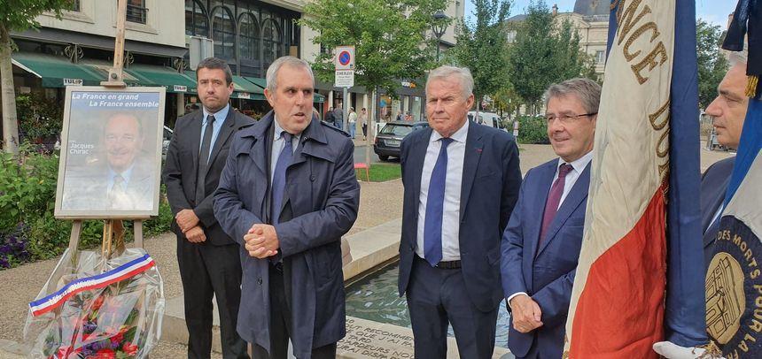 Le rassemblement a été initié par l'antenne départementale Les Républicains de la Dordogne