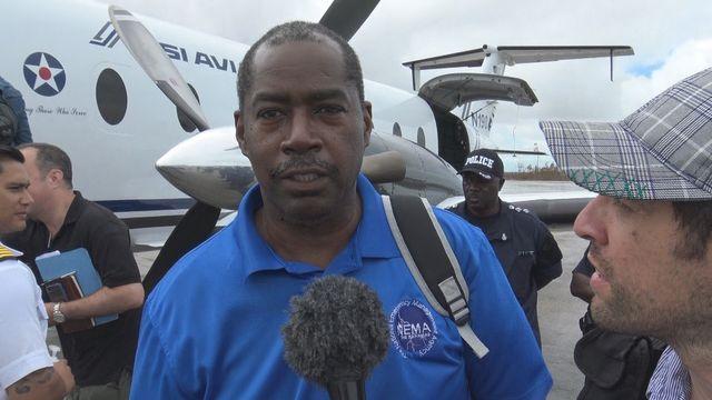 Stephen Russel, directeur de l'agence bahaméenne NIMA (National Emergency Management Agency)