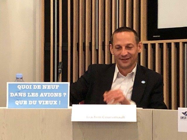 Joachim Coursimault, président de l'Unac