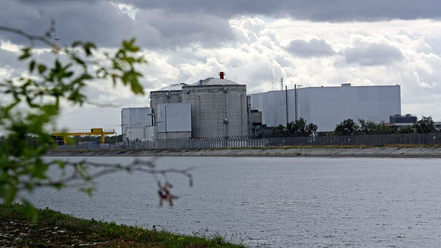 La centrale nucléaire de Fessenheim dans le Haut-Rhin doit fermer en 2020.