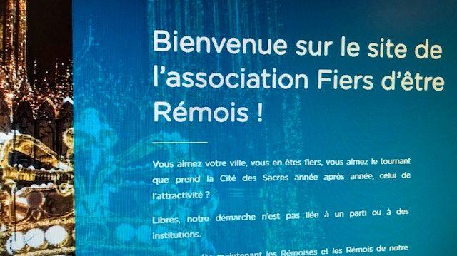 Le site de l'association / capture d'écran