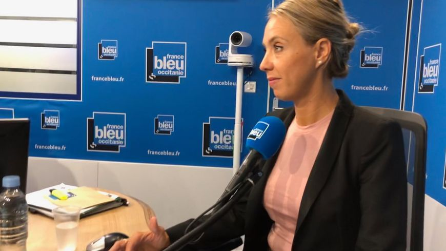 Nadia Pellefigue, invitée de France Bleu Occitanie ce 23 septembre 2019