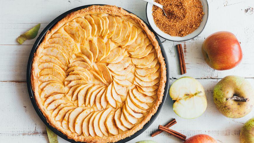 Une belle tarte aux pommes