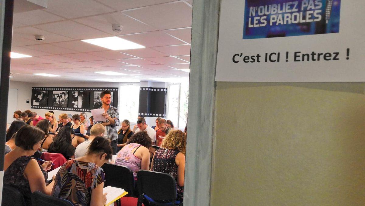 """Annecy : 90 candidats au casting de """"N'oubliez pas les paroles !"""""""