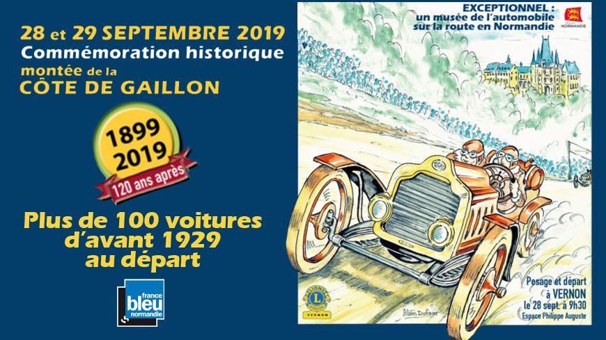 affiche Commémoration hisorique de la montée de la côte de Gaillon