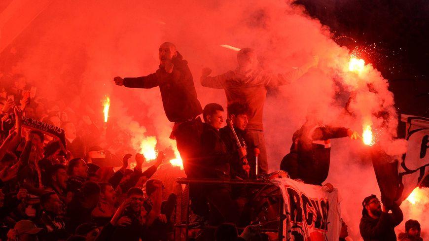 Le RCK lors de Rennes-Arsenal en Europa League la saison dernière