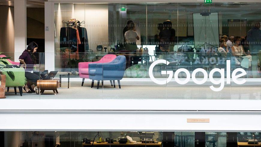 Les locaux de Google à la Station F, à Paris.