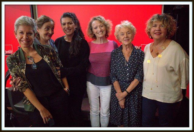Claude Guibal, Dominique Blanc, Elise Boghossian, Annick Cojean, Mona Ozouf et Anne Chaon