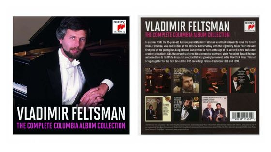 Vladimir Feltsman ‎– The Complete Columbia Album Collection