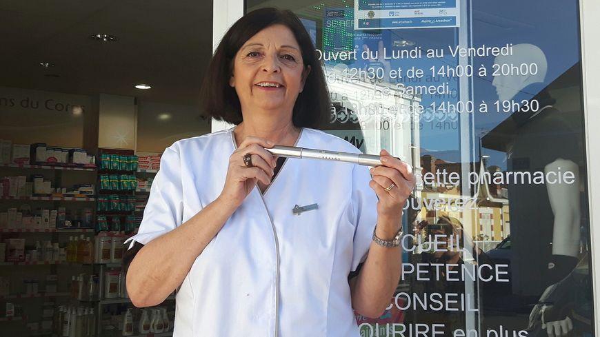 Evelyne Grouvel titulaire de la pharmacie Saint Ferdinand d'Arcachon