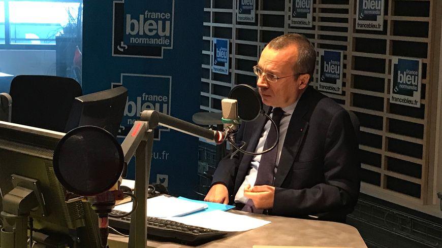 Le préfet de Seine-Maritime était l'invité de France Bleu Normandie vendredi matin
