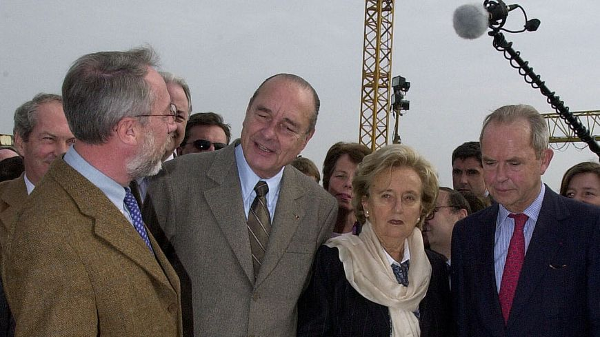 Antoine Rufenacht était le directeur de campagne de Jacques Chirac en 2002
