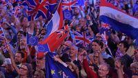 Last night of the Proms, les drapeaux européens créent la polémique