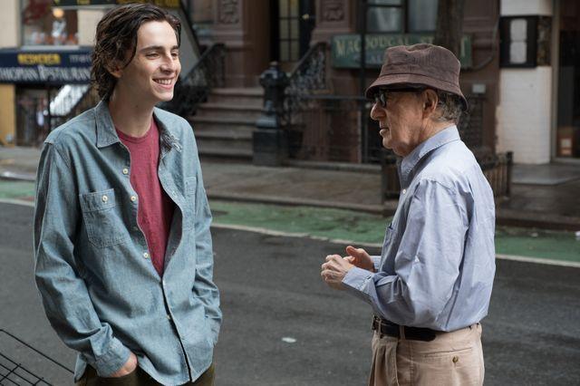 """""""Un jour de pluie à New York"""" : Timothée Chalamet et Woody Allen"""