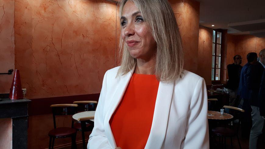 """Nadia Pellefigue ce mercredi lors de sa rentrée politique : """"je veux présenter un projet pour l'aire urbaine toulousaine"""""""
