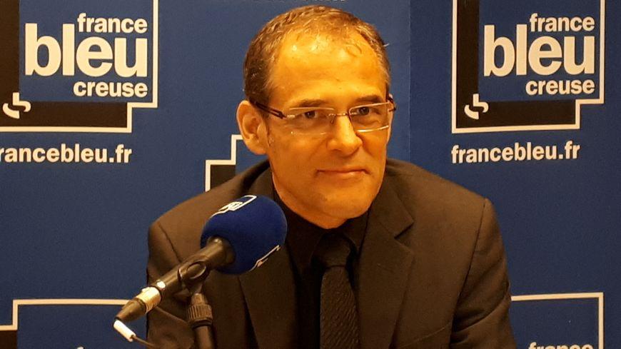 Frédéric Artigaut, directeur du centre hospitalier de Guéret