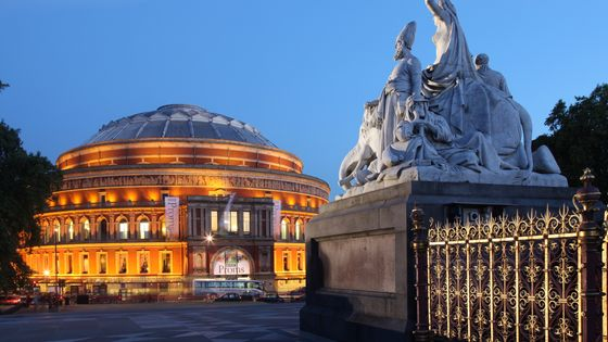 The Royal Albert Hall, Londres