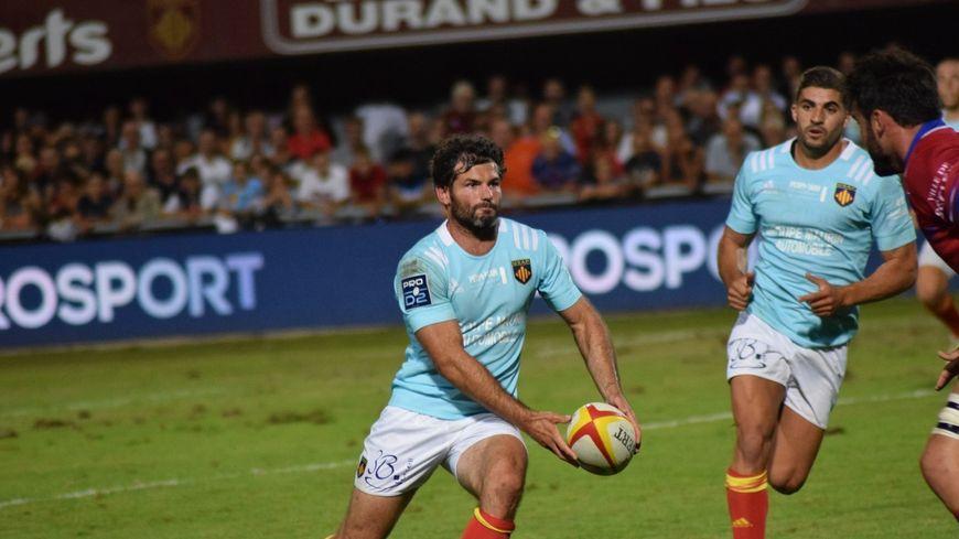 Le demi-d'ouverture Thibauld Suchier et ses coéquipiers n'ont pas réussi à enchaîner une deuxième victoire de suite.