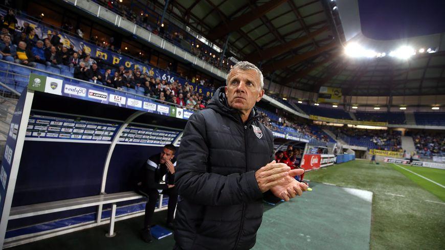 Patrice Lair, entraîneur d'En Avant Guingamp