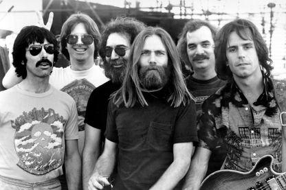 Le groupe de rock Grateful Dead en 1960.