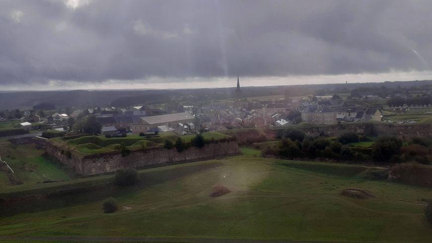 Rocroi (vue aérienne)