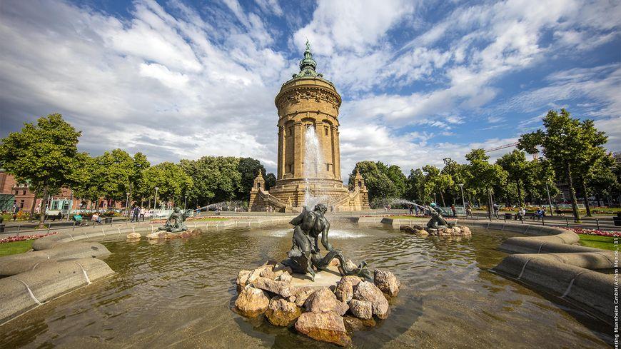Mannheim Kultur und Festivalstadt Wasserturm