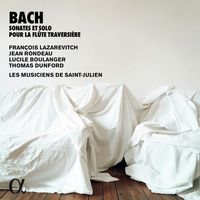 Sonate pour flûte traversière et clavecin en si min BWV 1030 : 1. Andante
