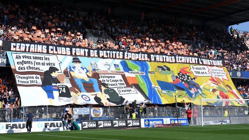 Le derby face à Nîmes était à guichets fermés, la saison passée