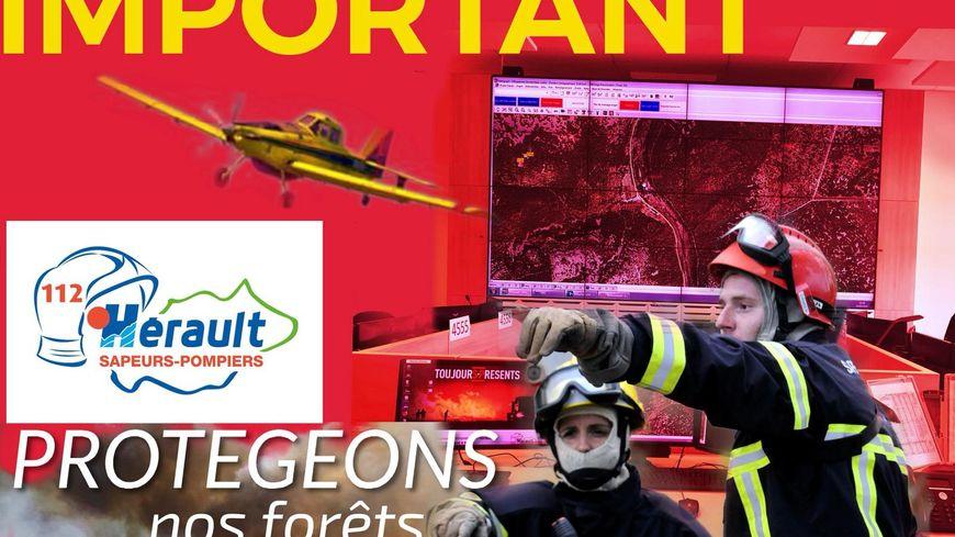 Les pompiers de l'Hérault appellent à des comportements responsables ce lundi dans l'Hérault