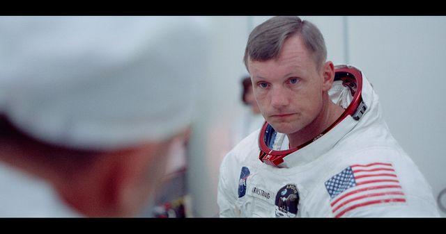 """""""Apollo 11"""" de Todd Douglas Miller fait redécouvrir des images inédites des astronautes en préparation pour cette aventure lunaire (ici Neil Amstrong)"""