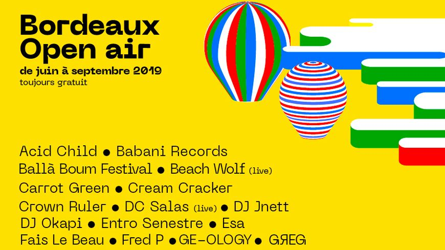 Festival Bordeaux Open Air 2019
