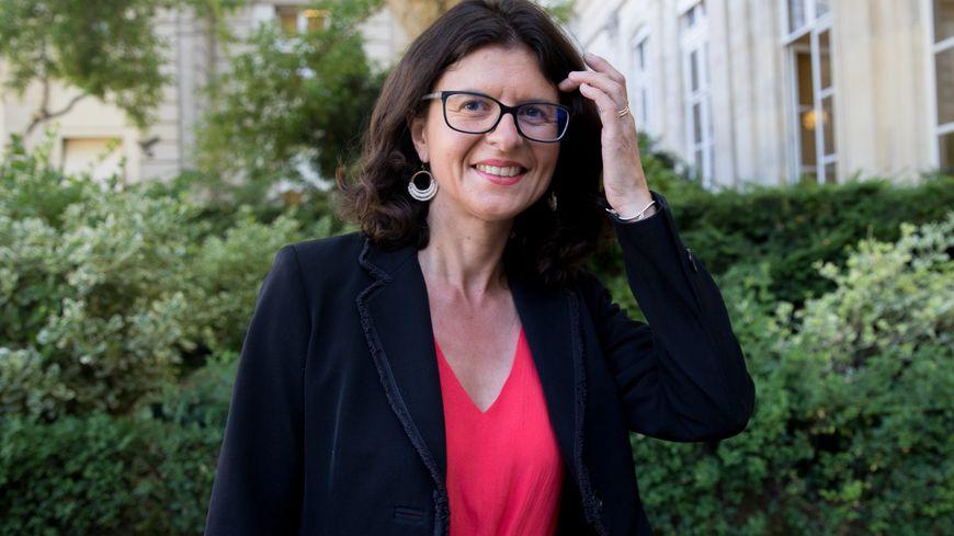 Valérie Oppelt candidate de la République en marche pour les municipales à Nantes